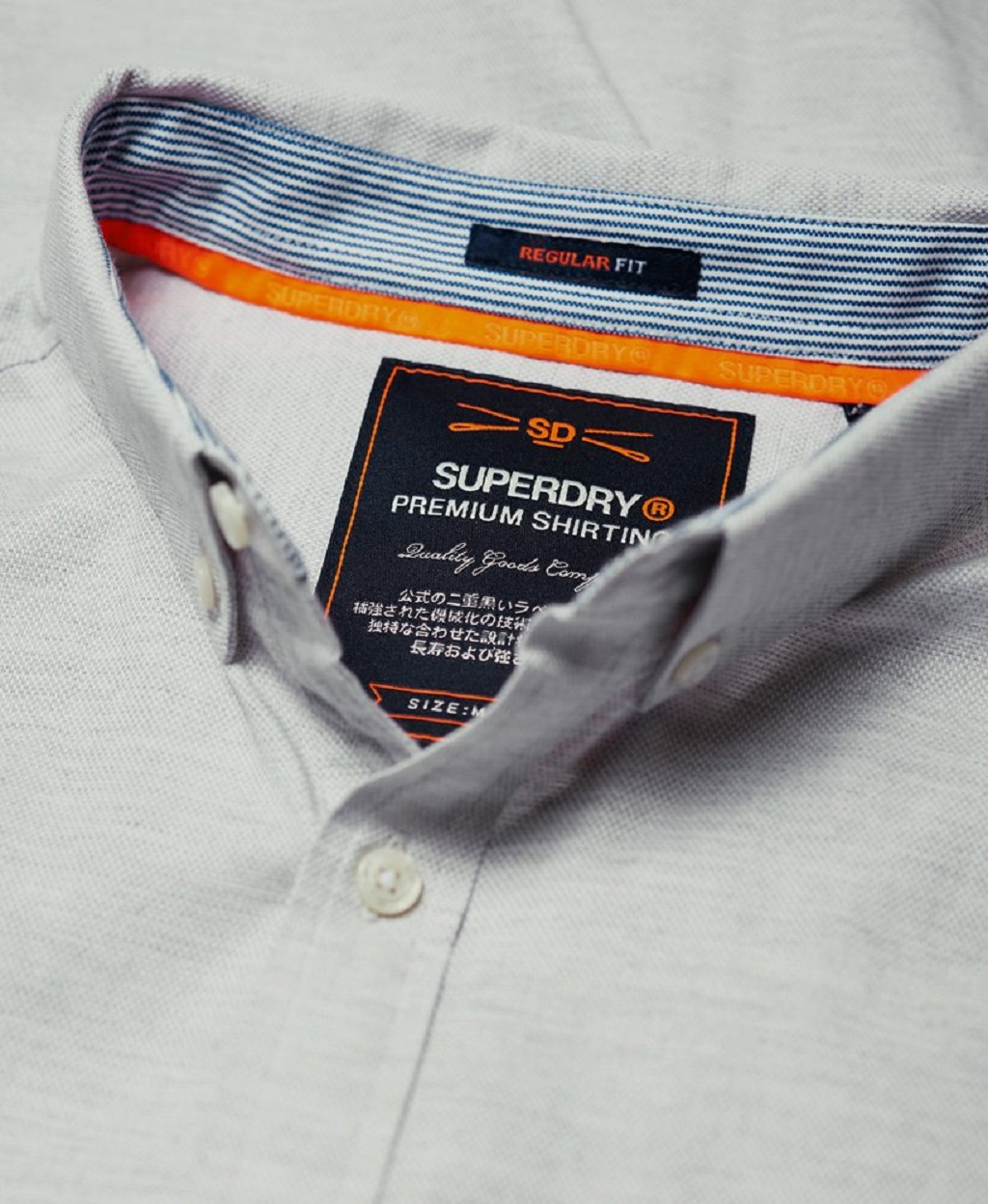 ... SUPERDRY PREMIUM BUTTON DOWN EMBROIDERED ΠΟΥΚΑΜΙΣΟ ΑΝΔΡIKO M40103AT-E3V  ... 2e60d10acbb
