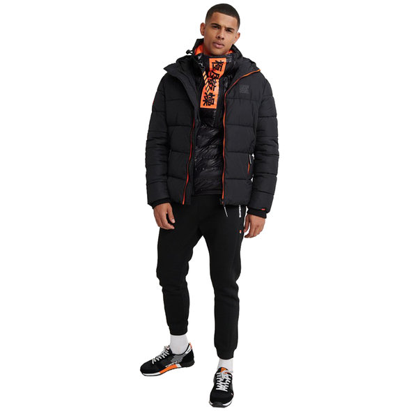 SUPERDRY TAPED SPORTS PUFFER ΜΠΟΥΦΑΝ ΑΝΔΡΙΚΟ MS300001A-02A