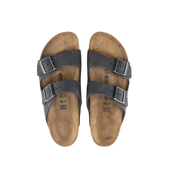 BIRKENSTOCK ARIZONA STEER LEATHER ΣΑΝΔΑΛΙ ΑΝΔΡΙΚΟ 1015501-STEER SOFT GRAY