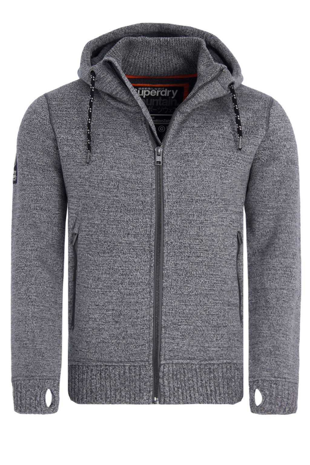 a9ddd1c1d37c SUPERDRY EXPEDITION ZIPHOODIE ΑΝΔΡΙΚΟ M20001MP-MID GREY TWIST (MID GREY  TWIST)