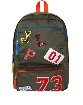 PEPE JEANS PATCHES BACKPACK ΤΣΑΝΤΑ ΠΑΙΔΙΚΗ BOY PB030193-751