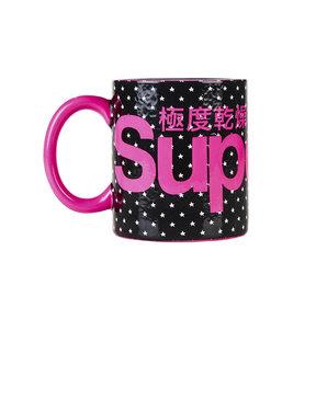 SUPERDRY ADULTS SUPER LOGO MUG ΚΟΥΠΑ G98016PN-BLACK STAR