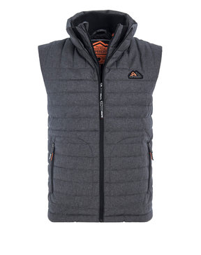 SUPERDRY DOUBLE ZIP TWEED FUJI ΓΙΛΕΚΟ ΑΝΔΡΙΚΟ M50003LR-ATD