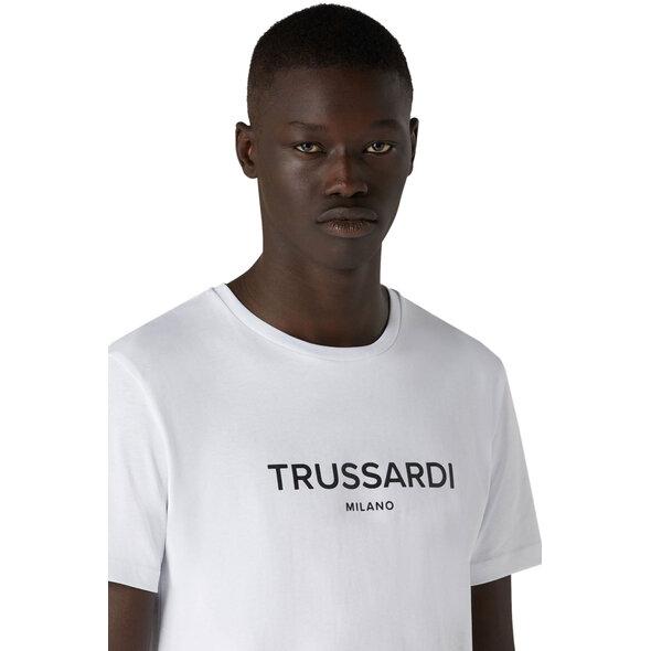 TRUSSARDI JEANS T-SHIRT ΑΝΔΡΙΚΟ ME LOGO T005091-W001