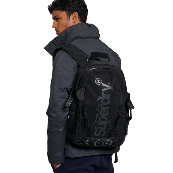 SUPERDRY COMBRAY TARP ΤΣΑΝΤΑ BACKPACK ΑΝΔΡIKH M9110127A-02A