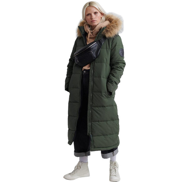 SUPERDRY LONGLINE QUILTED EVEREST JACKET ΓΥΝΑΙΚΕΙΟ W5000037A-THY