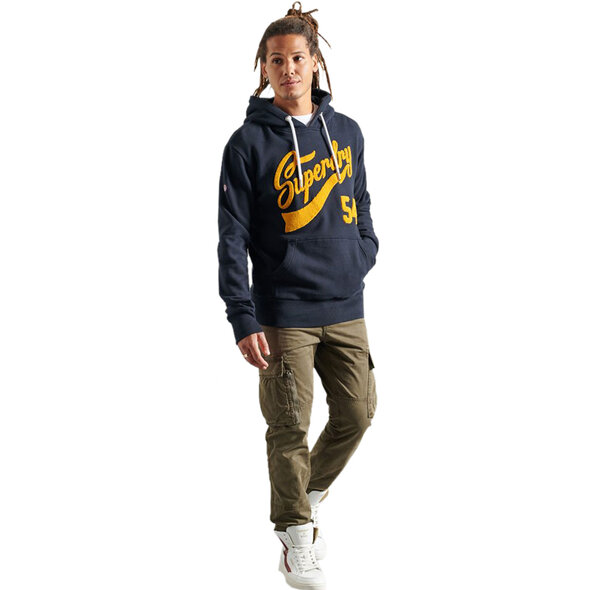 SUPERDRY COLLEGE CHENILLE ΦΟΥΤΕΡ ΑΝΔΡIKO M2011159A-98T