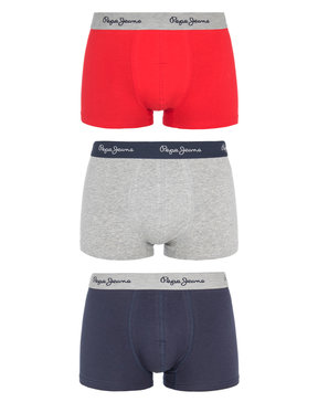 PEPE JEANS TRENT 3PACK SHORT TRUNK ΕΣΩΡΟΥΧΑ ΑΝΔΡΙΚΑ F3447-0AA