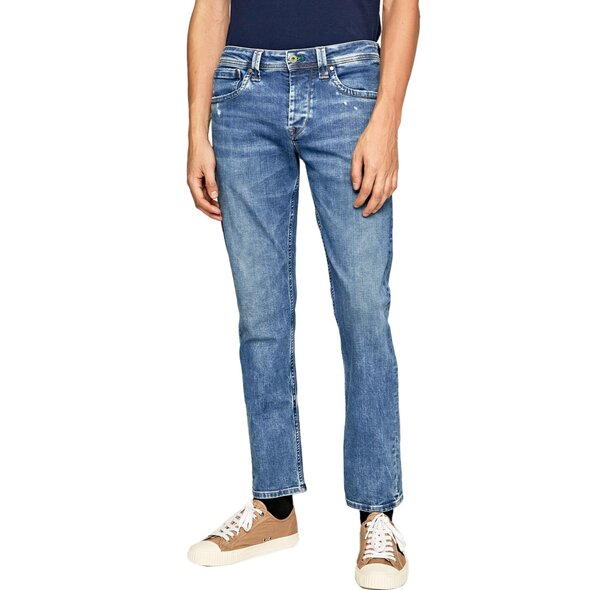 PEPE JEANS 'CASH' REGULAR FIT & WAIST JEAN ΠΑΝΤΕΛΟΝΙ ΑΝΔΡIKO PM200124WF9-000