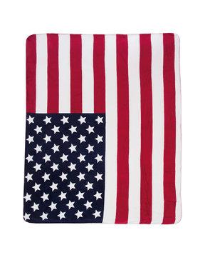 US POLO ASSN USA FLAG BLANKET ΚΟΥΒΕΡΤΑ 4394351039-100
