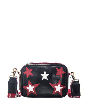 MWM SMALL SHOULDER BAG STARS ΤΣΑΝΤΑ ΓΥΝΑΙΚΕΙΑ 17023189-BLACK